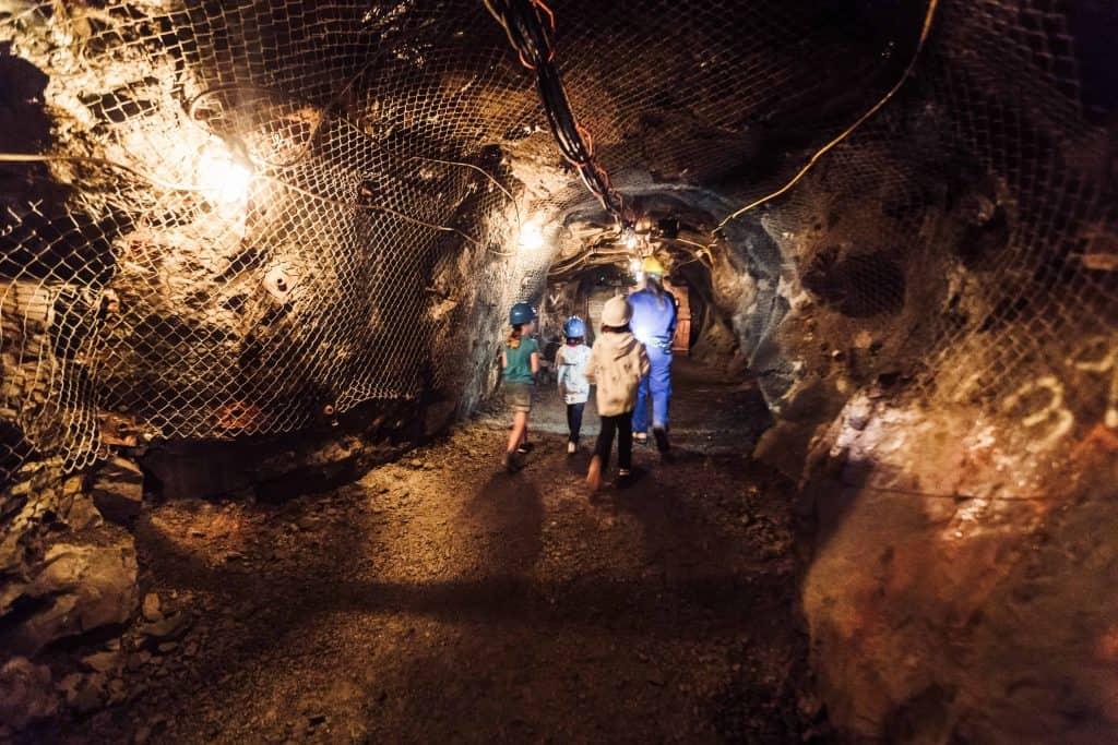 dynamic earth tunnels-sudbury