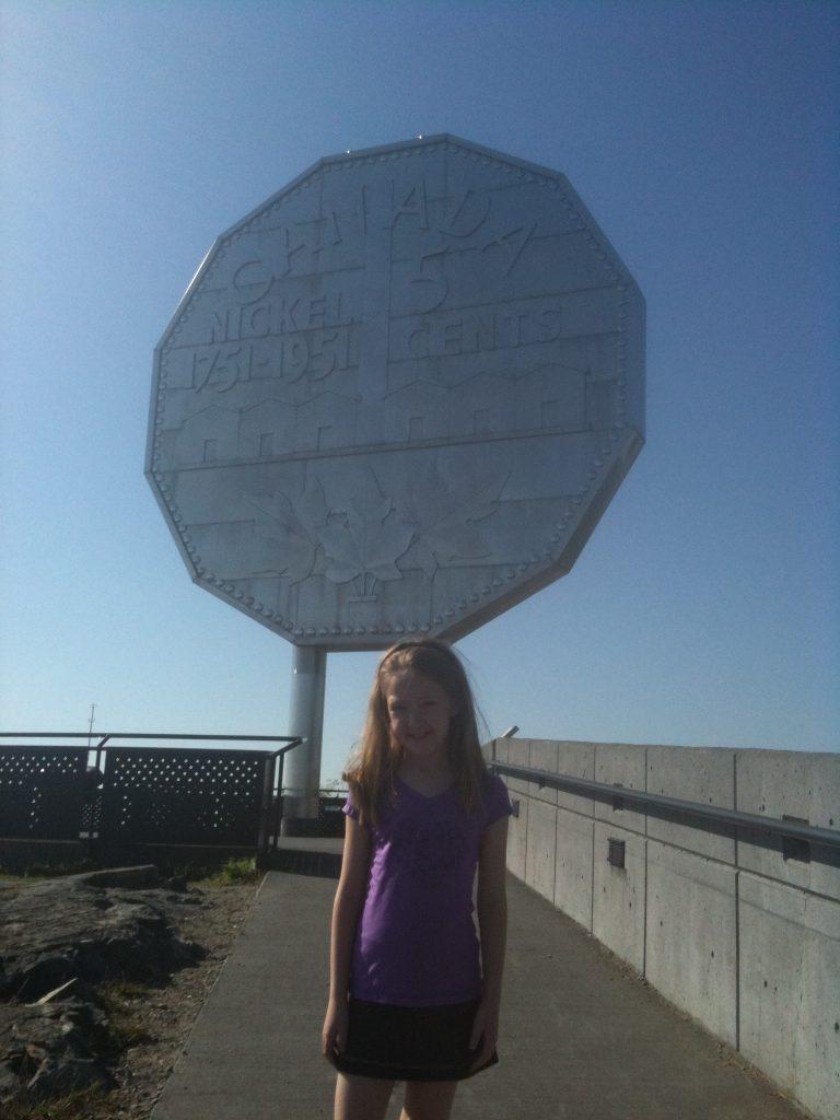 ontario-sudbury-girl at big nickel