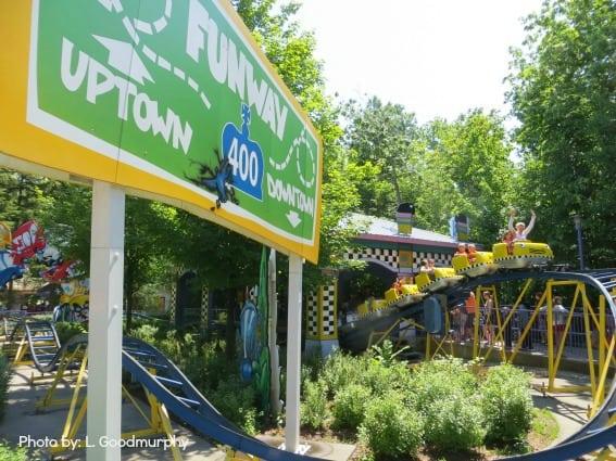 canada's wonderland-kidzville roller coaster