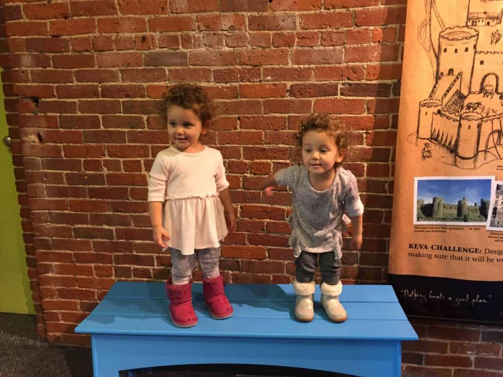 Boston with kids-toddlers at children's museum