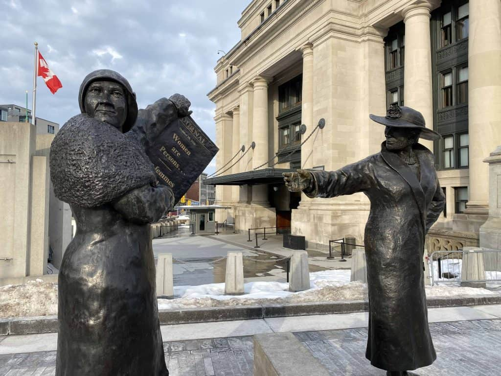 women are persons-famous five monument-ottawa
