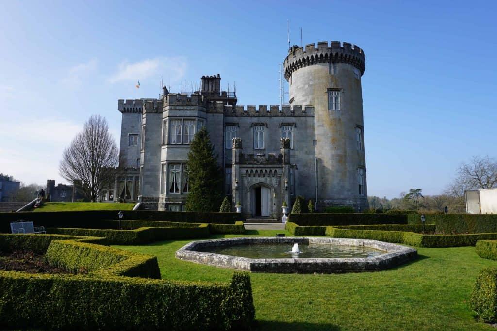 Exterior of Dromoland Castle, Ireland.