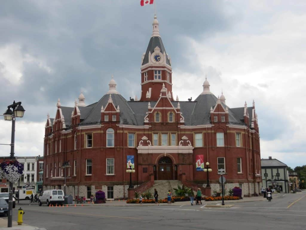 Stratford, Ontario City Hall.