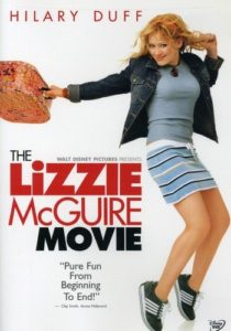 the lizzie mcguire movie dvd cover.